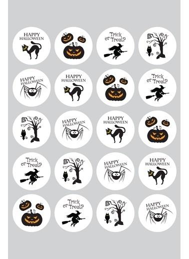 Funbou Sticker, Halloween / 10 Sayfa Renkli